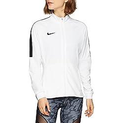 Nike academy18Knit Track Chaqueta de Entrenamiento, Todo el año, Mujer, Color Negro/Blanco, tamaño Large