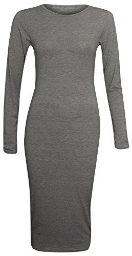 Candid Styles Damen Kleid Schwarz - Noir - Charbon