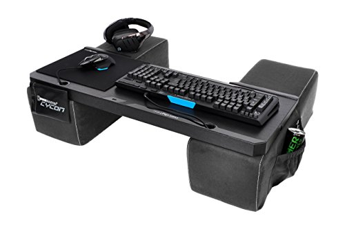 COUCHMASTER® Cycon | Microfibra Grey Edition (base ergonómica para jugar en el...