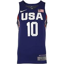 Nike Vapor USA Basketball Auth Jersey - Camiseta sin mangas para hombre, color azul, talla XL