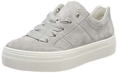 Legero Damen Lima Sneaker, Grau (Alluminio), 41 EU (7 UK)