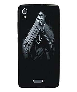 Techno Gadgets Back Cover for Intex Aqua Speed HD