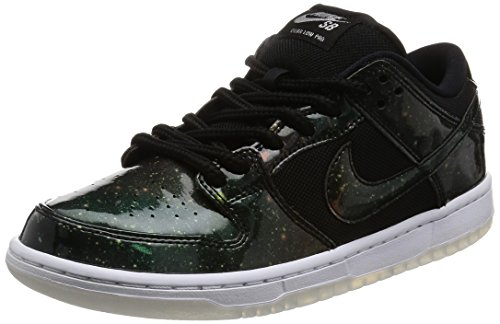 Nike Men's SB Dunk Low TRD QS Black/Black/White Skate Shoe 10 Men US (Nike Womens Dunk)