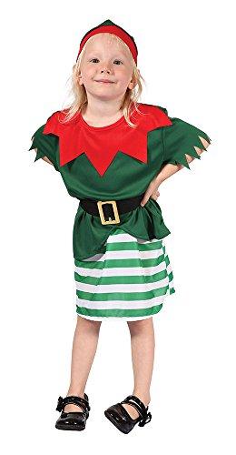 (Bristol Novelty Kleiner Weihnachtskobold Kostüm für Kleinkinder)