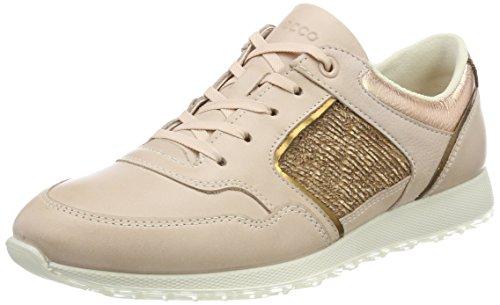ECCO Damen Sneak Ladies Sneaker, Pink Bronze/Rose Dust, 38 EU Bronze Oval Pan