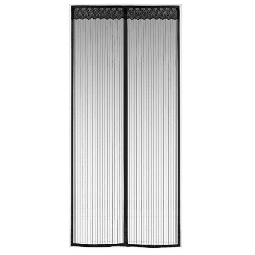 Rideau Moustiquaire Magnétique Pour Porte 90x210cm Rideau Anti