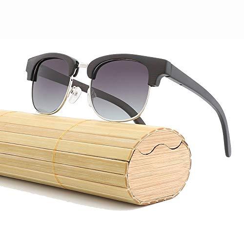 Outdoor-Sonnenbrille, UV400 polarisierte klare Gläser für Reisesport und Outdoor-Aktivitäten bei heißem Wetter (Color : Gray)