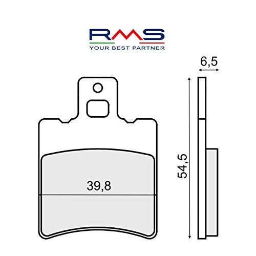 Coppia pastiglie freno anteriori RMS 225103210 Scarabeo/Runner/Booster/Sfera/Zip