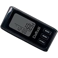 Daffodil HPC650 Multi-function Pedometer - Accurate Step Counter with 7 day Memory Function, Calorie Counter and Daily Progress Monitor