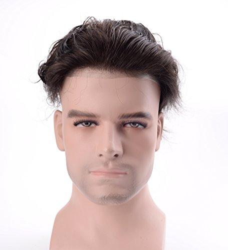 Lordhair Reale Menschenhaar Super Dünne Haut Männer Toupee -