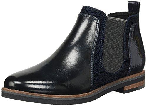 Softline Damen 24260 Slipper Schwarz (Black)