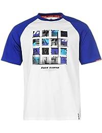 Hot Tuna - T-shirt - Homme multicolore blanc/bleu