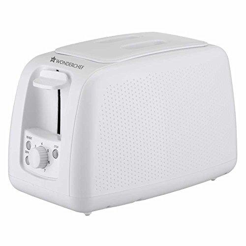 Wonderchef Regalia Monochrome 63152304 780-Watt Toaster (White)