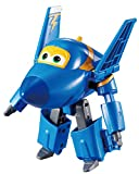 Alpha Animation & Toys- Super Wings YW710230 Transforming Jerome Flugzeug, Color Negro, Azul (