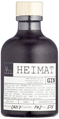 HEIMAT Gin Miniatur 50ml (0,05l) -