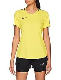 Amazon.es  camisetas futbol - Amarillo   Mujer  Ropa 5baecec623b0a