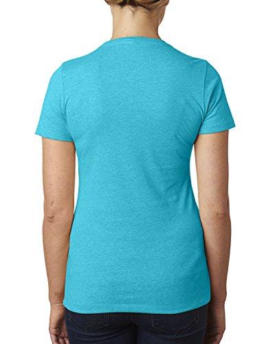 Next Level - T-shirt - Femme Bleu - BONDI BLUE