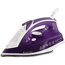 Russell Hobbs 23060-56 Seco y de vapor 2400W Acero inoxidable Púrpura, Color blanco - Plancha