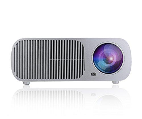 Wimius Video proiettore LED Home Cinema Teatro Mini per multimedia