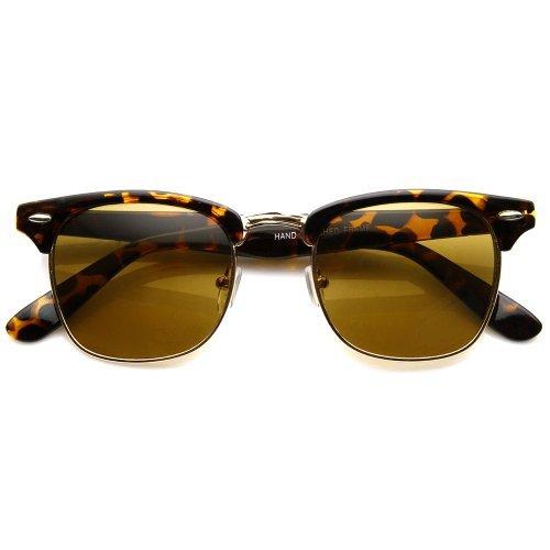 ZeroUV Herren Sonnenbrille Classic Series | Tortoise/Brown Einheitsgröße