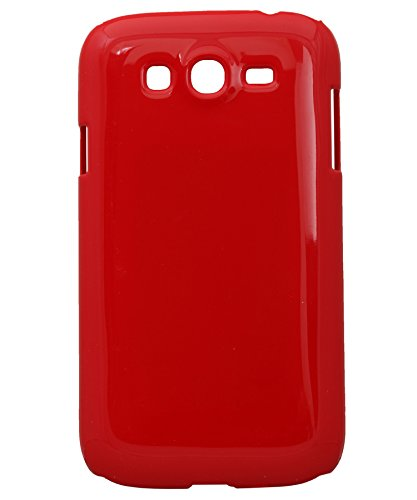 iCandy™ Colorfull Shiney Hard Back Cover For Samsung Galaxy Grand Quattro 8552 - Red  available at amazon for Rs.99