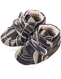 0fec87f9ba9ad Amazon.fr   Toile - Chaussures premiers pas   Chaussures bébé garçon ...