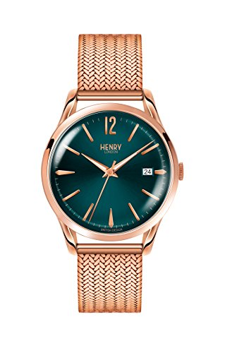 Henry London Armbanduhr HL39-M-0136