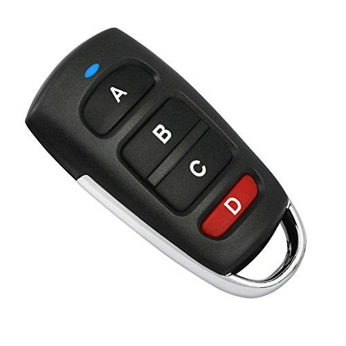 Baoblaze Universal Elektro Garagentor Fernbedienung Schlüssel 4 Tasten 433mhz - D