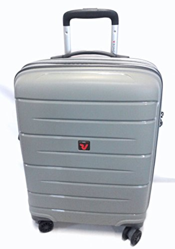Roncato Trolley Medio Exp. 4r Flight DLX Silver 47x71x26cm