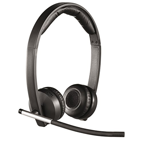 Logitech Wireless Headset Dual H820e, schwarz (Office Wireless Headset)