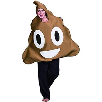 Eraspooky Halloween Unisexe Caca émoticône Costume