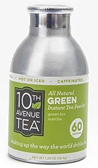 10th Avenue Tea Instant Green Matcha Tea Powder