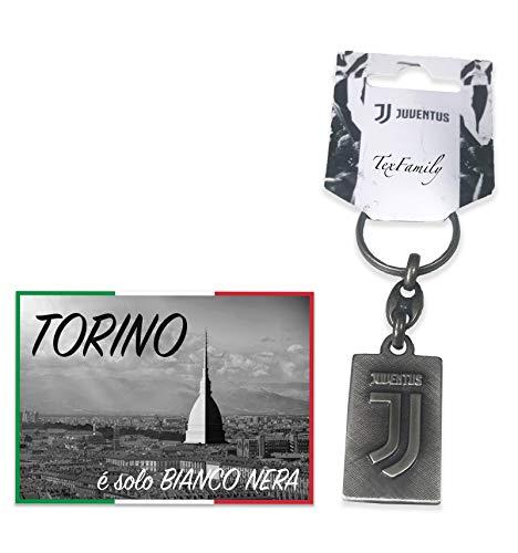 tex family Schlüsselanhänger Vintage Metall FC Juventus