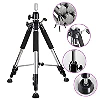 Xtrend Heavy Duty Adjustable Tripod Stand Holder Cosmetology Tool for Hairdressing Training Head Mannequin Head Canvas Head Wig Stand Salon Hair With Carrying Bag