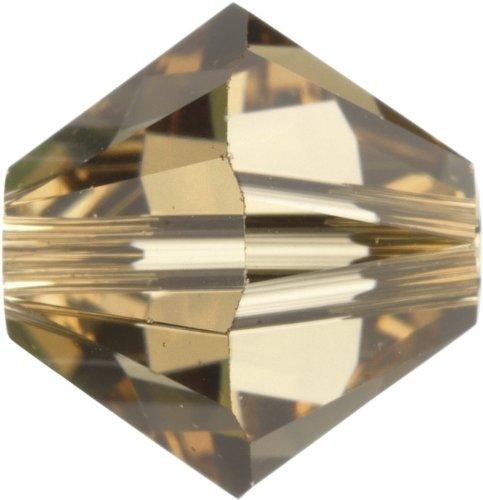 Original Swarovski Elements Beads 5328 MM 5,0 - Tanzanite AB (539 AB) ; Diameter in mm: 5 ; Packing Unit: 720 pcs. Light Colorado Topaz (246)