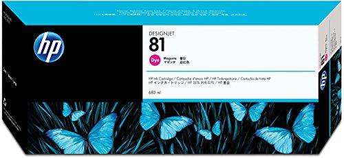 HP N°81 Cartouche d'encre d'origine Magenta C4932A