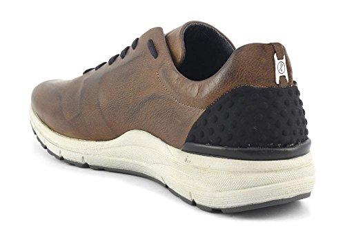 Sneaker Cafè Noir PA101 blu I16.109 CUOIO