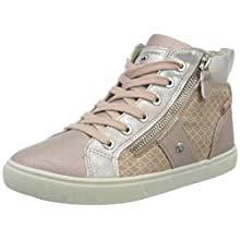 Lico Girls' Loren Hi-Top Trainers, Pink (Rosa Rosa), 4 UK