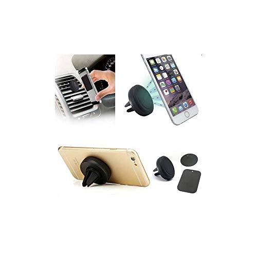 Look My Kase Support téléphone aimanté de Voiture, Fixation magnétique du  Mobile sur la Grille b3c93486db16