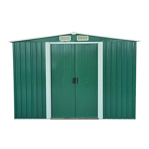 Outsunny box casetta da giardino ripostiglio per - Attrezzi da giardino per bambini ...