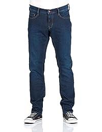 Mustang Herren Jeans Oregon - Tapered Fit - Blau - Strong Blue - Light Blue