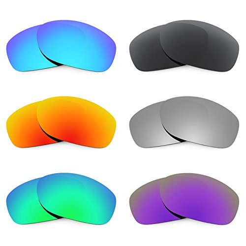 Revant Ersatzlinsen für Oakley Pit Bull Polarisiert 6 Paar Kombipack K024