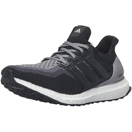 41eG LS48mL. SS500  - Adidas Performance Ultra Boost Running Shoe,black/black/grey,5 M Us
