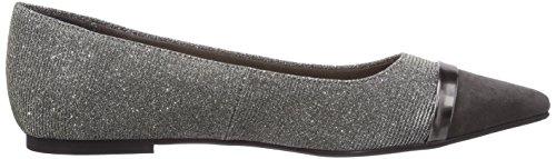 Tamaris 22133 Damen Geschlossene Ballerinas Mehrfarbig (Platinum Comb 972)