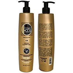 Shampoing SANS SULFATES à la KERATINE & EXTRAIT D'AIL - KERAGOLD Pro - AB kératine - 500ml