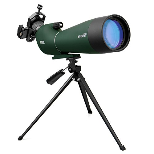 Svbony SV28 Telescopio Terrestre 20-60x80mm IP65 Impermeable