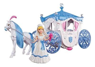 Mattel X2840 Princesas Disney - Carruaje de boda de la Cenicienta de Mattel