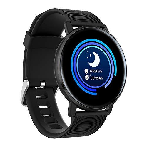 AMBM Smartwatch, Fitness Armband Tracker Voller Wasserdicht Smart Watch Intelligente Aktivitäts Uhr Sportuhr, Pulsmesser Schlafmonitor SMS Beachten Armbanduhr