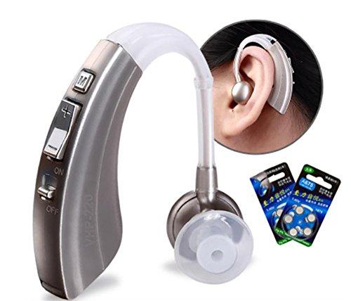 D&F Digitale HöRgeräT HöRhilfe HöRverstäRker-Steuerung Personal Sound HA-66.600hr Batterielebensdauer, Arzt Und Audiologe Entworfen
