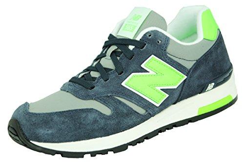 New Balance ML565NG Chaussures Mode Sneakers Homme Bleu Gris Vert New Balance